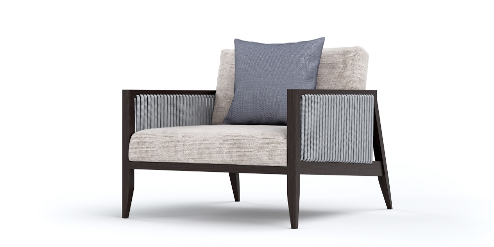 Hayes outdoor armchair