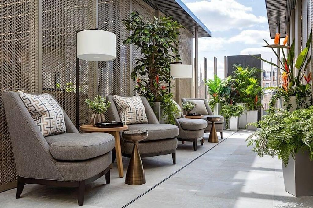 outdoor terrace furniture crown aspinalls mayfair london