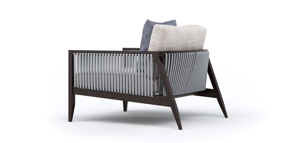 Hayes outdoor chair back