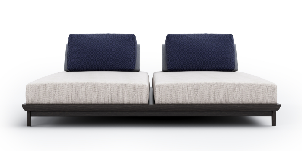 Carvalho outdoor lounger