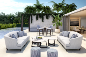 Outdoor sofa - Bolgheri collection