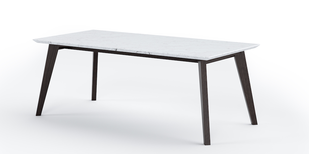 Abacus Marble Outdoor Dining Table