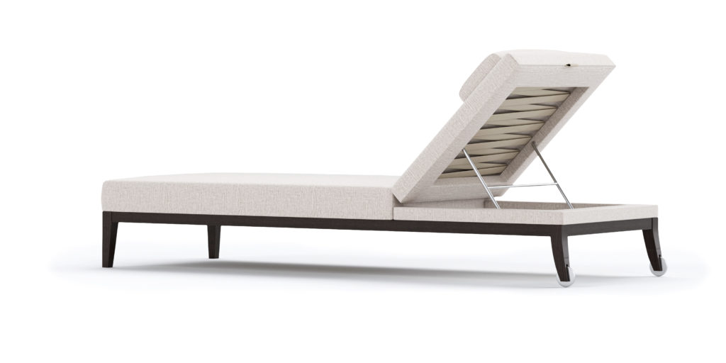 CHUCHUMBER OUTDOOR LOUNGER SINGLE BACK