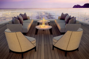 YACHT OUTDOOR FURNITURE - ATLAS COLLECTION