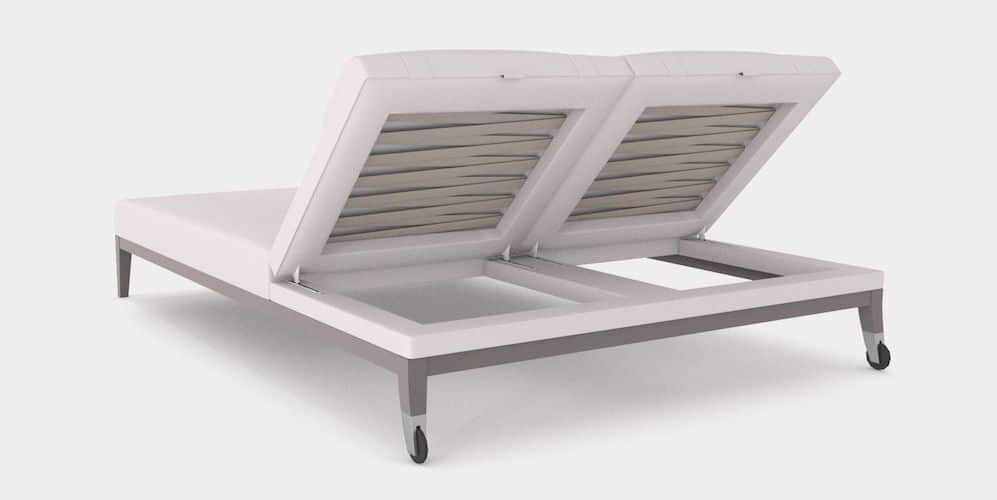 Luxury Double Outdoor Lounger