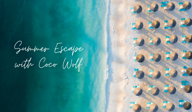 Summer escape - outdoor furniture by Coco Wolf