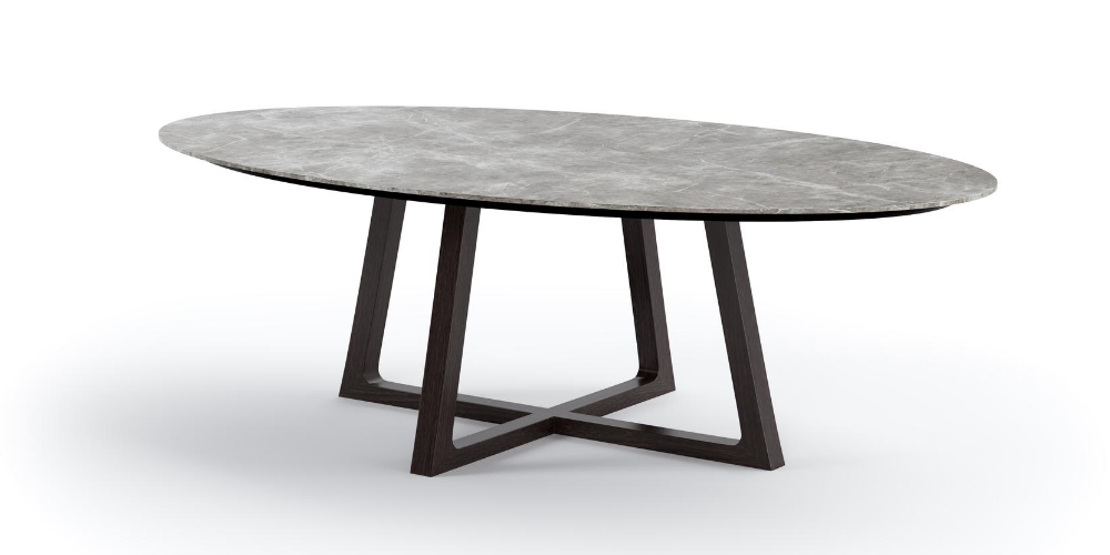 Outdoor Porcelain Oval dining table