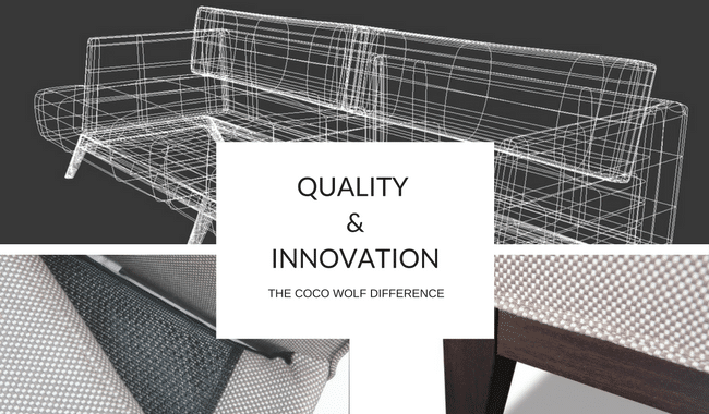 cocowolf sofa wireframe and upholstered furniture detail
