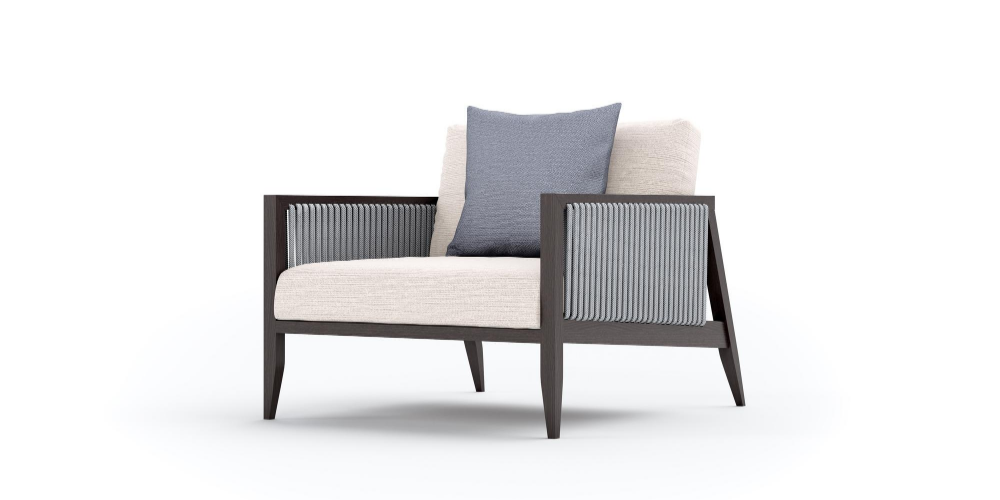 Hayes Outdoor Armchair Side