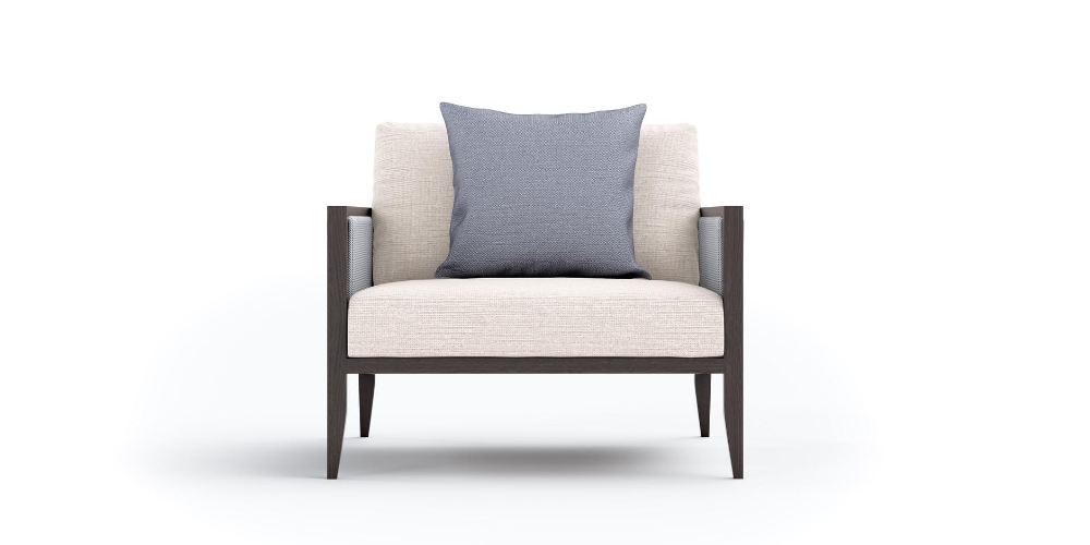 Hayes Outdoor Armchair Front