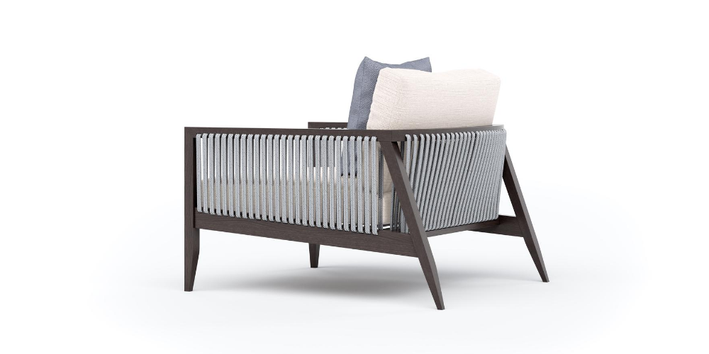 Hayes Outdoor Armchair Back
