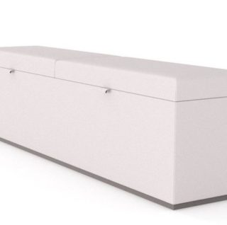 MARLON OUTDOOR OTTOMAN DUO SIDE