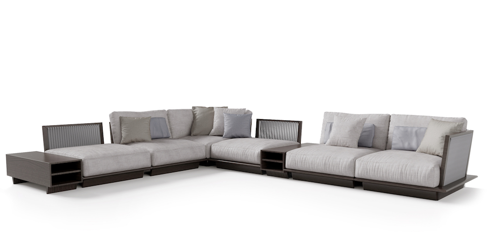 OUTDOOR MILLBROOK MODULAR SOFA