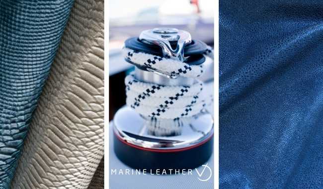 exceptional outdoors with marine leather