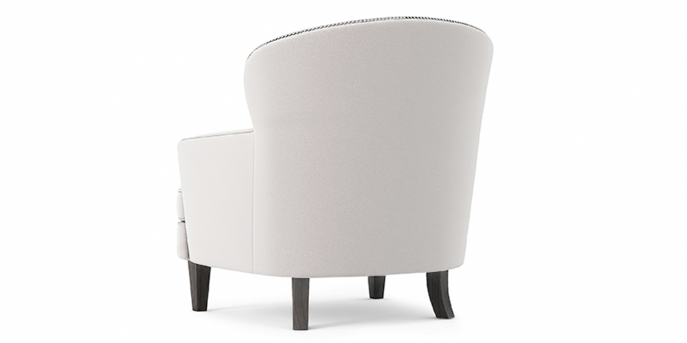 MASSETO BUTTONED OUTDOOR CHAIR BACK
