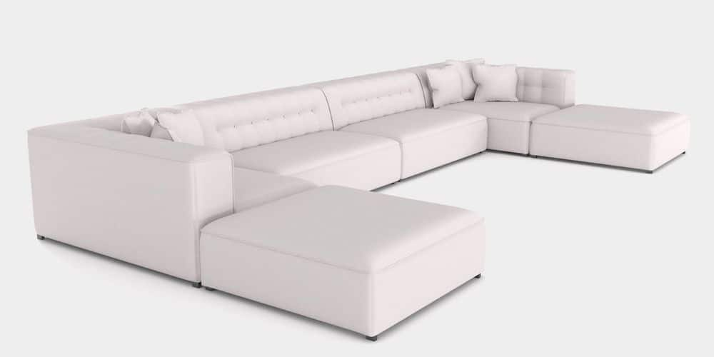 Sectional Luxury Outdoor Upholstered Sofa