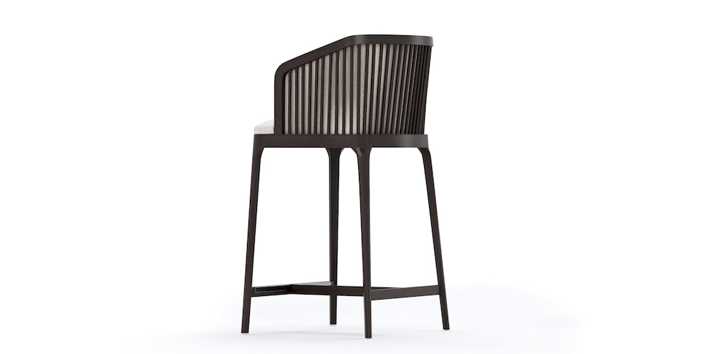NEMI OUTDOOR BARSTOOL BACK