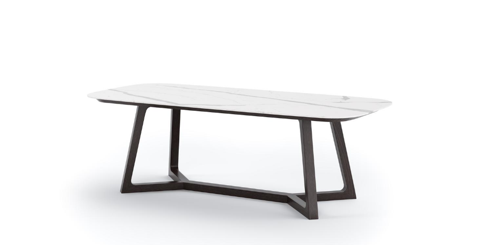 Norma outdoor porcelain coffee table