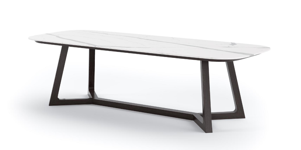 Perseus outdoor porcelain table