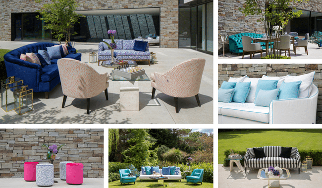 2017 spring trends for luxury outdoor furniture