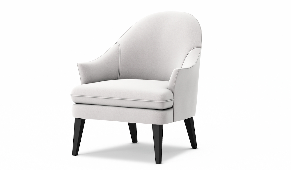 Therese Armchair - side view