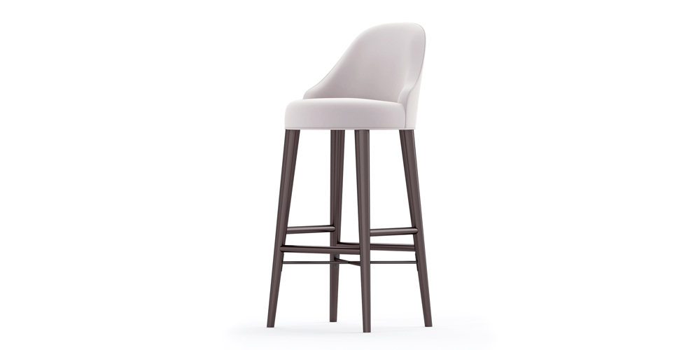 ZAVE OUTDOOR BARSTOOL SIDE