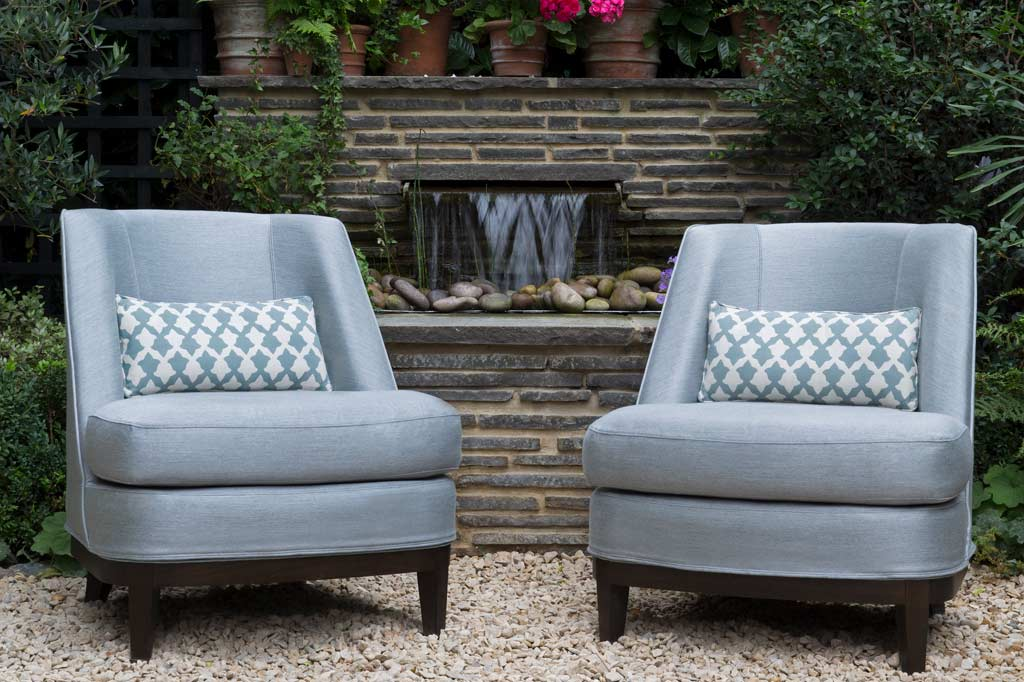 cocowolf outdoor chairs in london garden